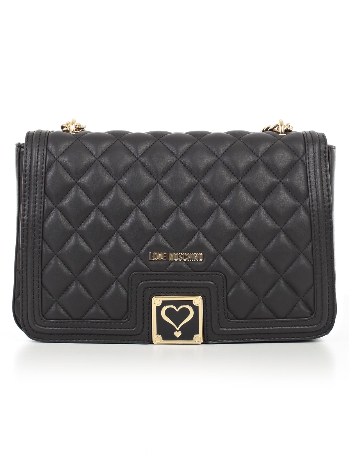 Picture of LOVE MOSCHINO BAG FLAP CROSSBODY QUILTED NAPPA