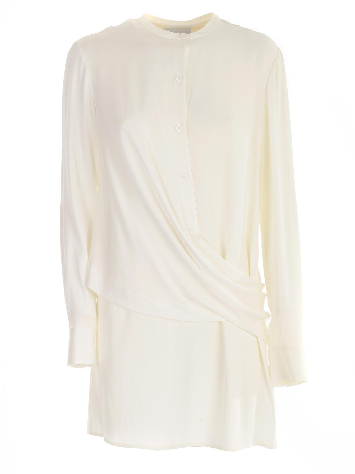 Picture of DKNY SHIRTS L/S WRAP FRNT TUNIC