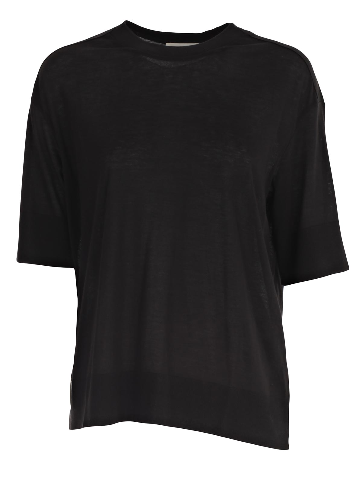 Picture of DKNY T-SHIRT ELBOW SLV CREW NECK KNIT TOP M 3/4
