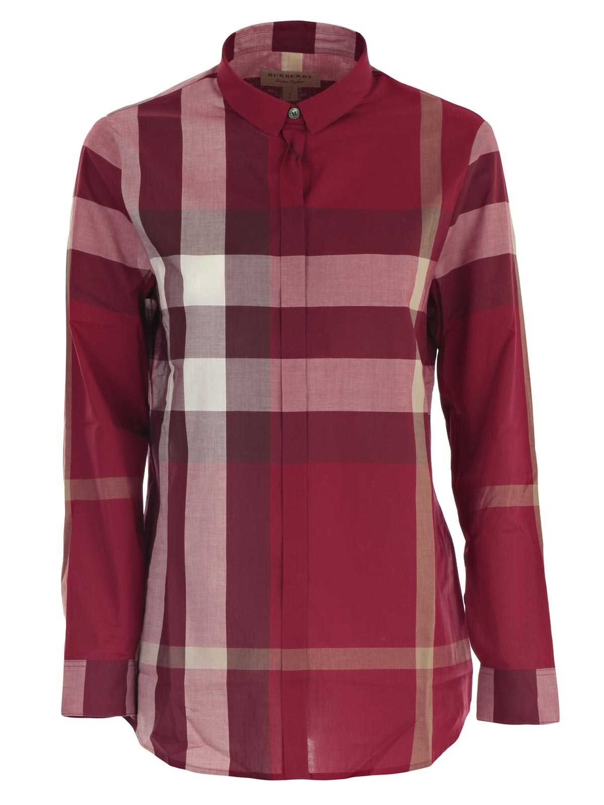 Picture of BURBERRY SHIRTS TRI85712 CAMICIA M/L CHECK ESPLOSO