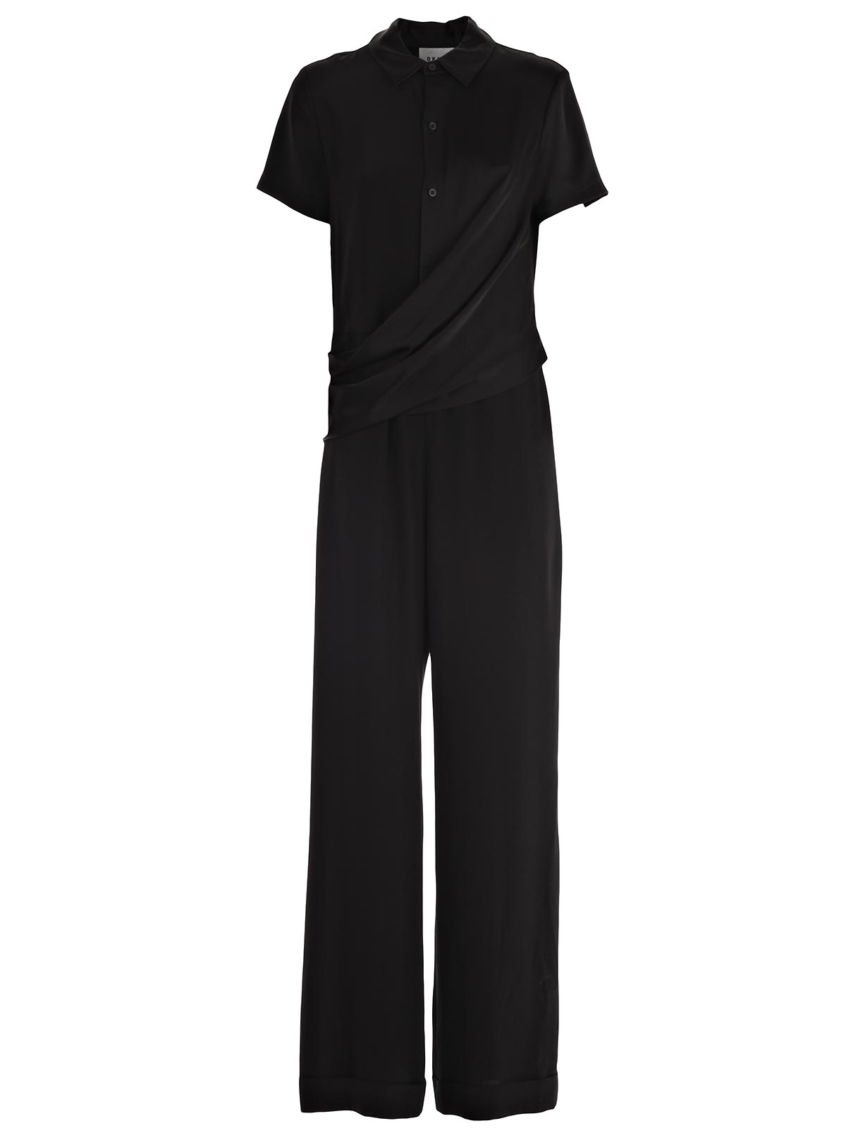 Picture of DKNY Casual Jacket S/S WRAP FRNT  JUMPSUIT W/ CUFF