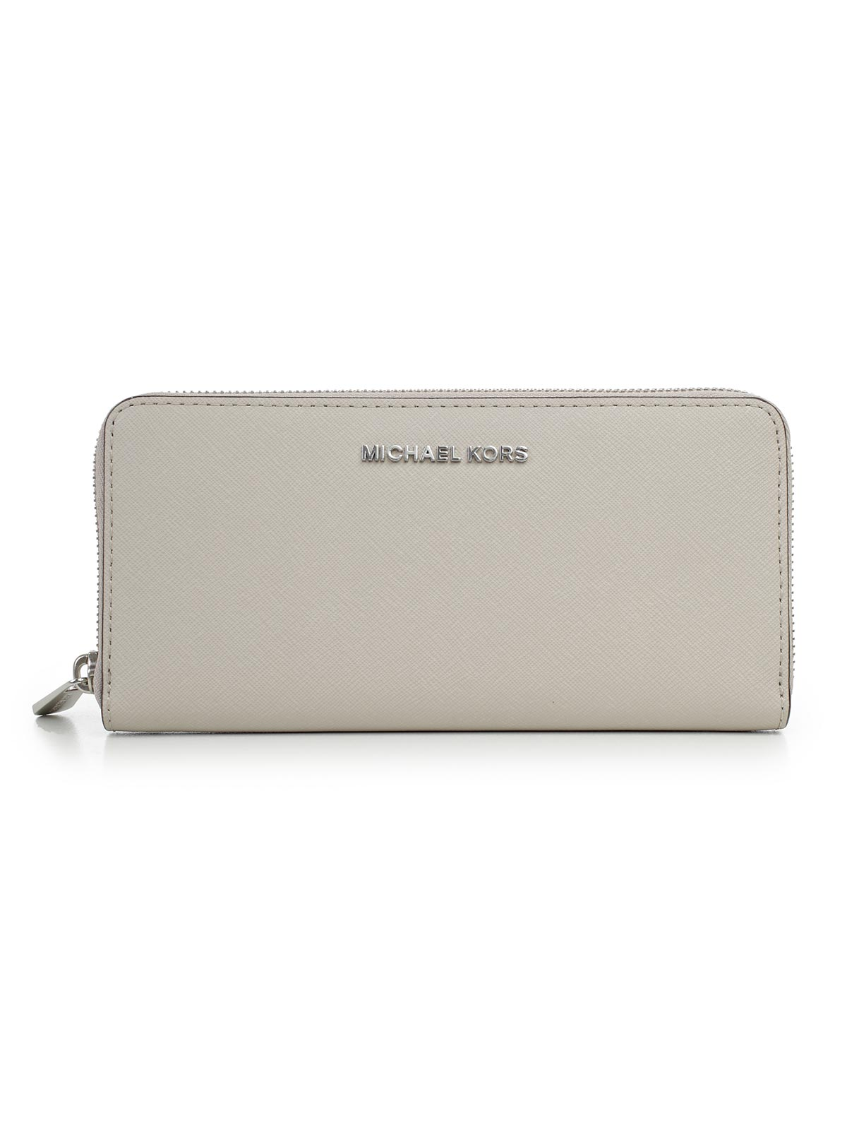 Picture of MICHAEL MICHAEL KORS WALLET JET SET TRAVEL ZA CONTINENTAL PORTAFOGLIO ZIP RHODIUM