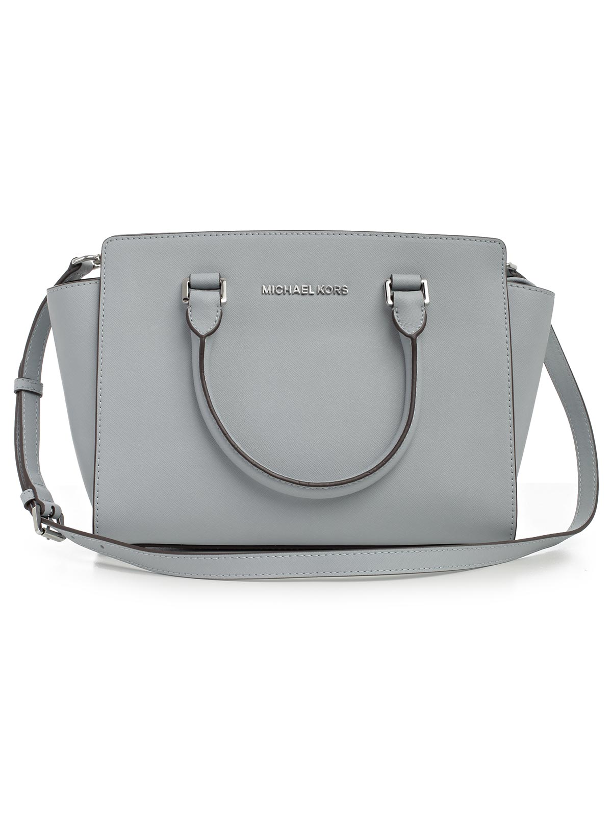Picture of MICHAEL MICHAEL KORS BAG SELMA MD TZ SATCHEL BORSA DUE MANICI E TRACOLLA RHODIUM