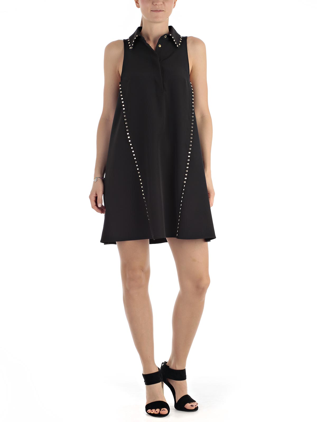 Picture of VERSACE COLLECTION DRESS ABITO S/M AD A + BORCHIE