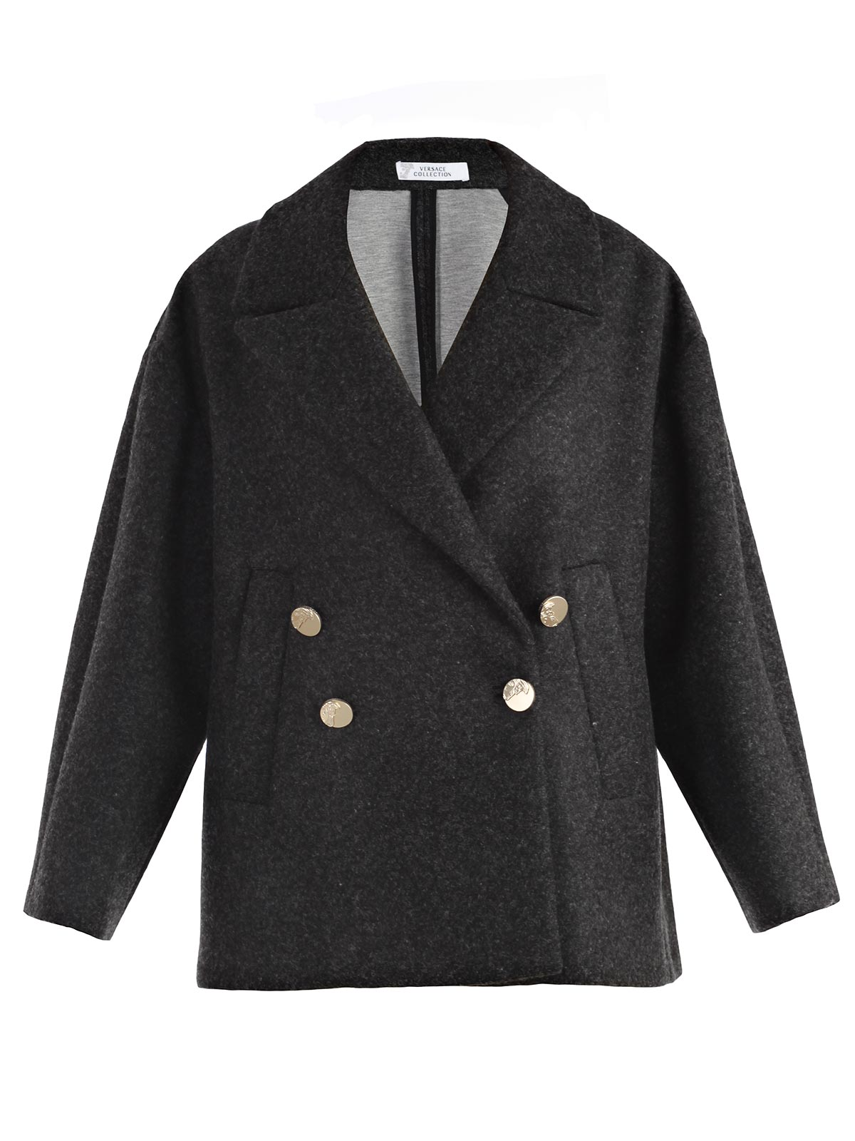 Picture of VERSACE COLLECTION COAT GIACCONE D/PETTO M/L OVER