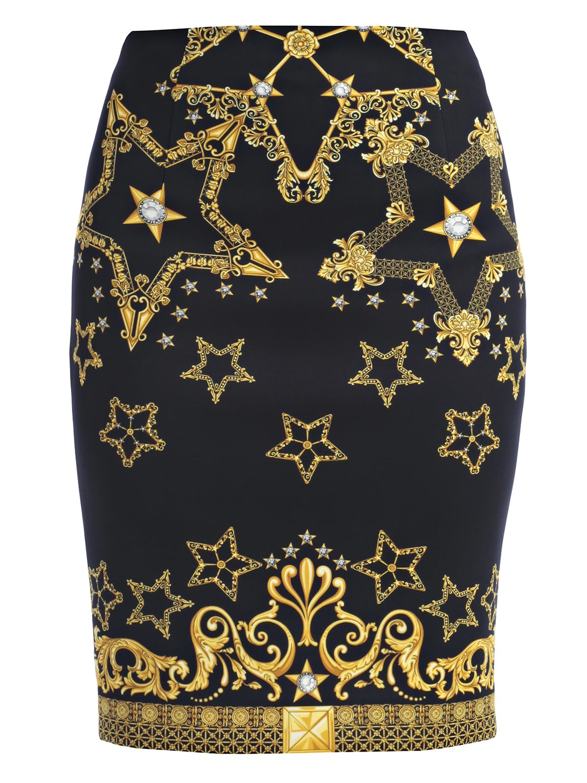 Picture of VERSACE COLLECTION SKIRT GONNA TUBINO JERSEY FANTASIA