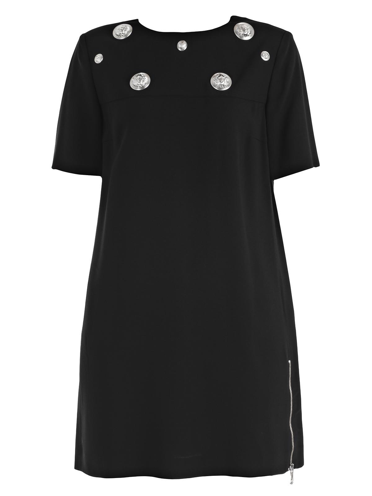 Picture of VERSUS VERSACE DRESS ABITO M/C  LEONI COLLO