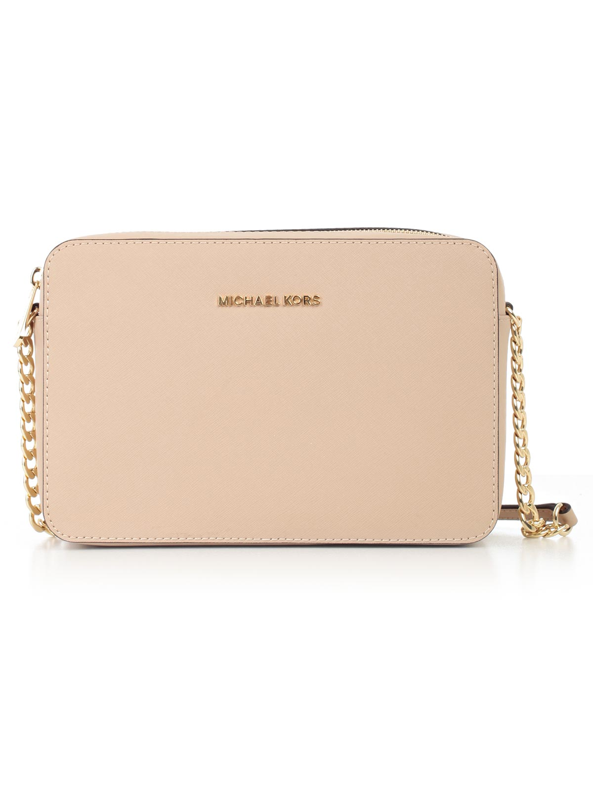 Picture of MICHAEL MICHAEL KORS BAG JET SET TRAVEL LG EW CROSSBODY TRACOLLINA IN SAFFIANO