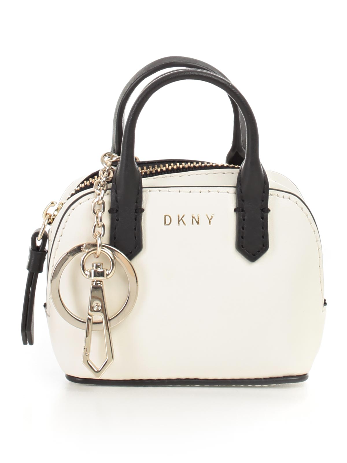 Picture of DKNY SMALL LEATHER GOODS MINI SATCHEL CHARM