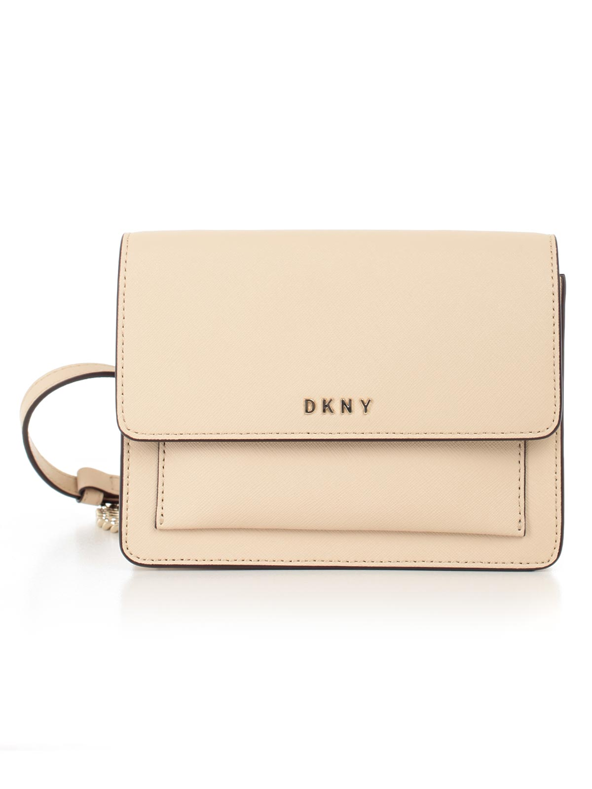 Picture of DKNY BAG MINI FLAP CROSSBODY  TRACOLLINA SAFFIANO