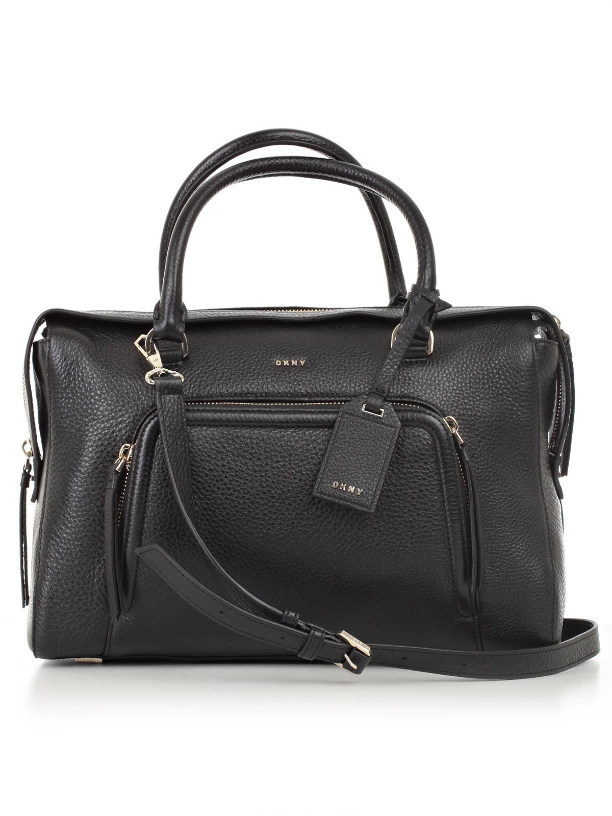 Picture of DKNY BAG LARGE SATCHEL BORSA ZIP