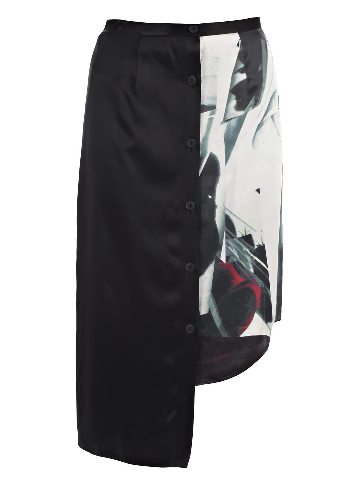 Picture of DKNY SKIRT GONNA  ASIMMETRICA FANTASIA
