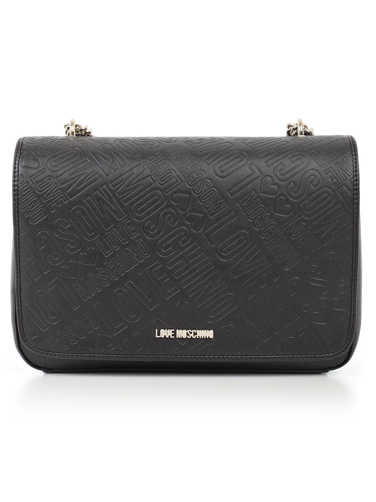 Picture of LOVE MOSCHINO BAG FLAP EMBOSSED
