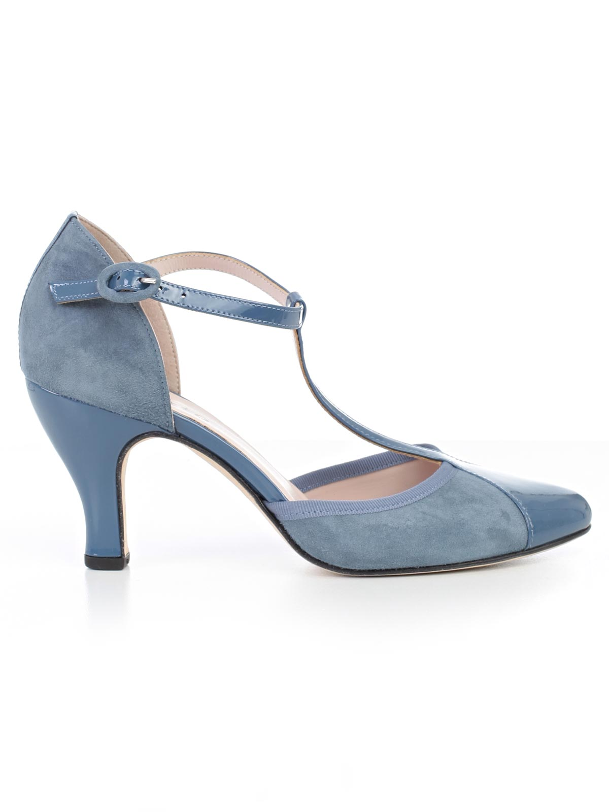 Picture of REPETTO FOOTWEAR BAYA SUEDE + VERNICE