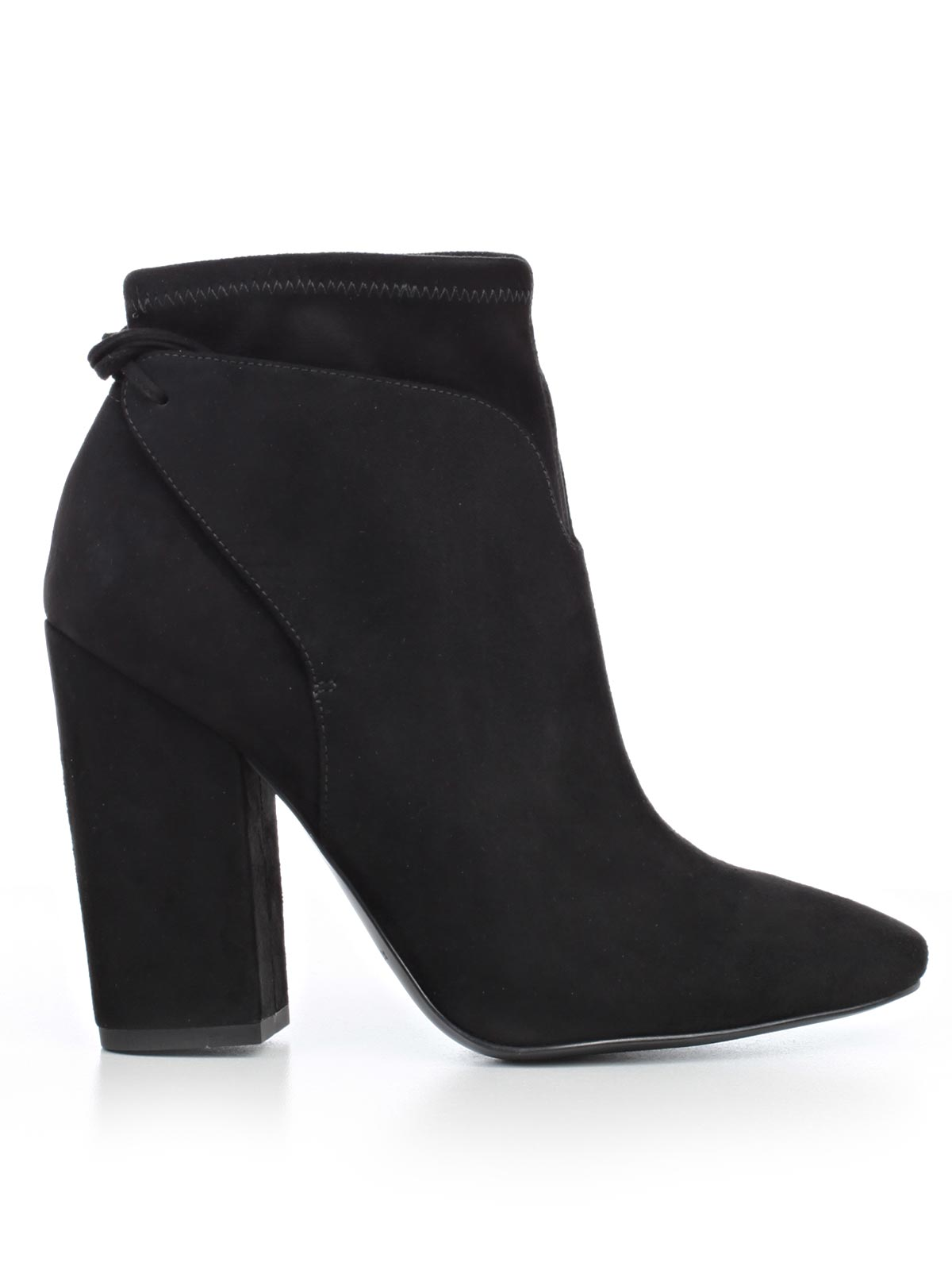 Picture of KENDALL + KYLIE FOOTWEAR POLACCO SUEDE TACCO LACCI DIETRO