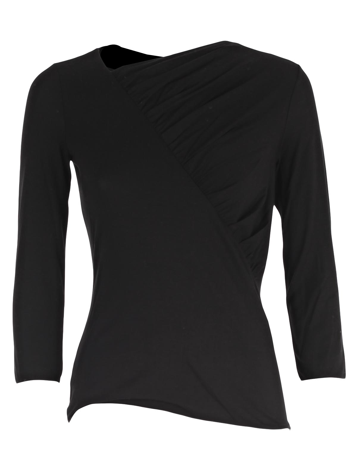 Picture of ARMANI COLLEZIONI  T-SHIRT LONG SLEEVE T-SHIRT W/DRAPING