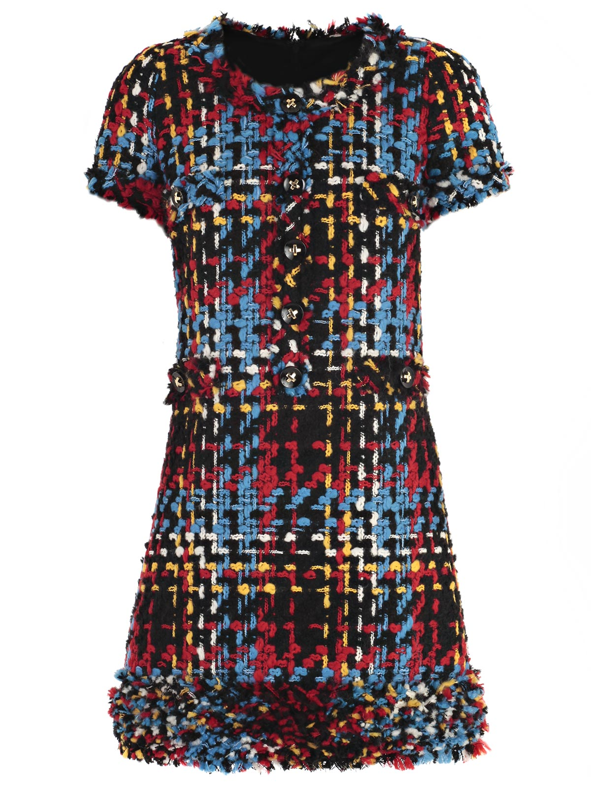 Picture of EDWARD ACHOUR PARIS DRESS ABITO M/C  MULTICOLOR