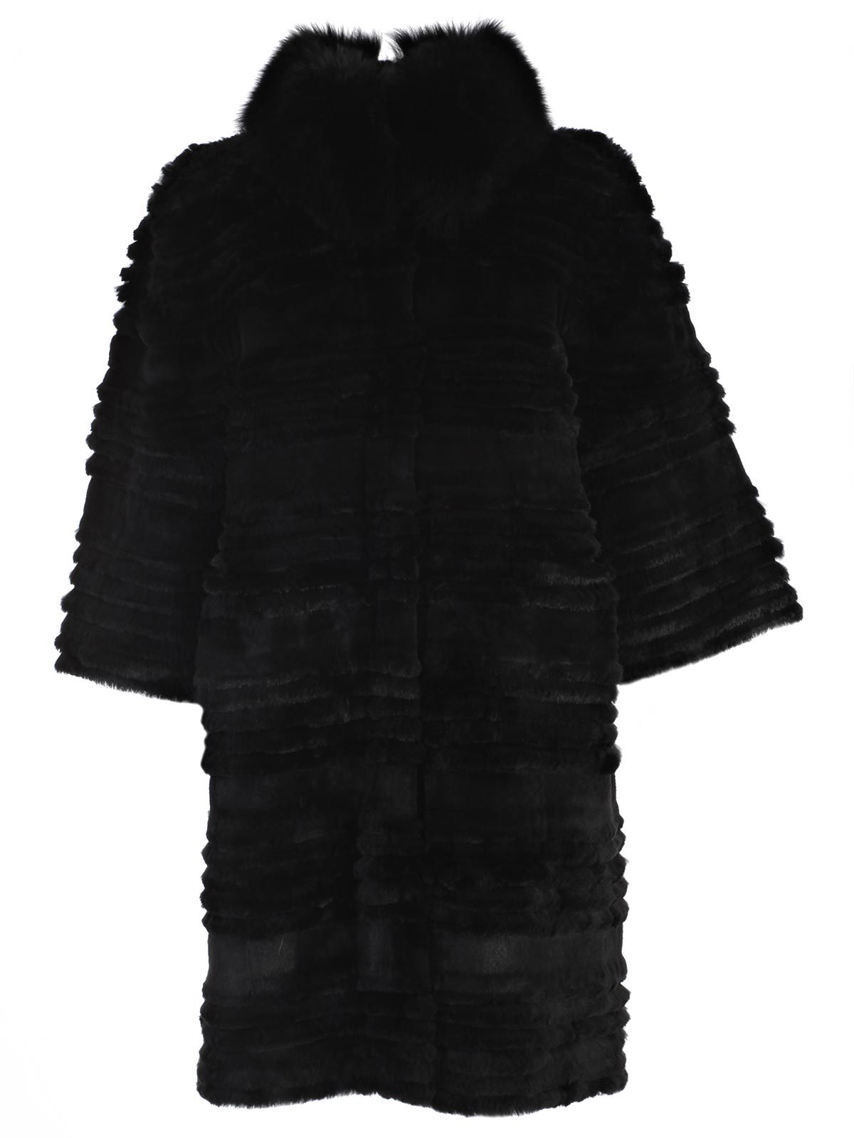 Picture of BETTA CORRADI COAT CAPPOTTO M3/4 COLLO VOLPE