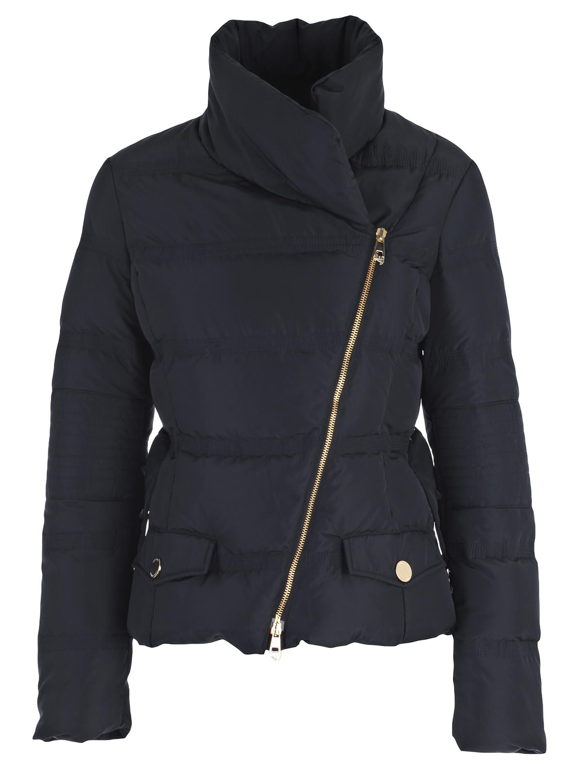 Picture of VERSACE COLLECTION Padded Jacket PIUMINO ZIP OBLIQUA+CINTURA