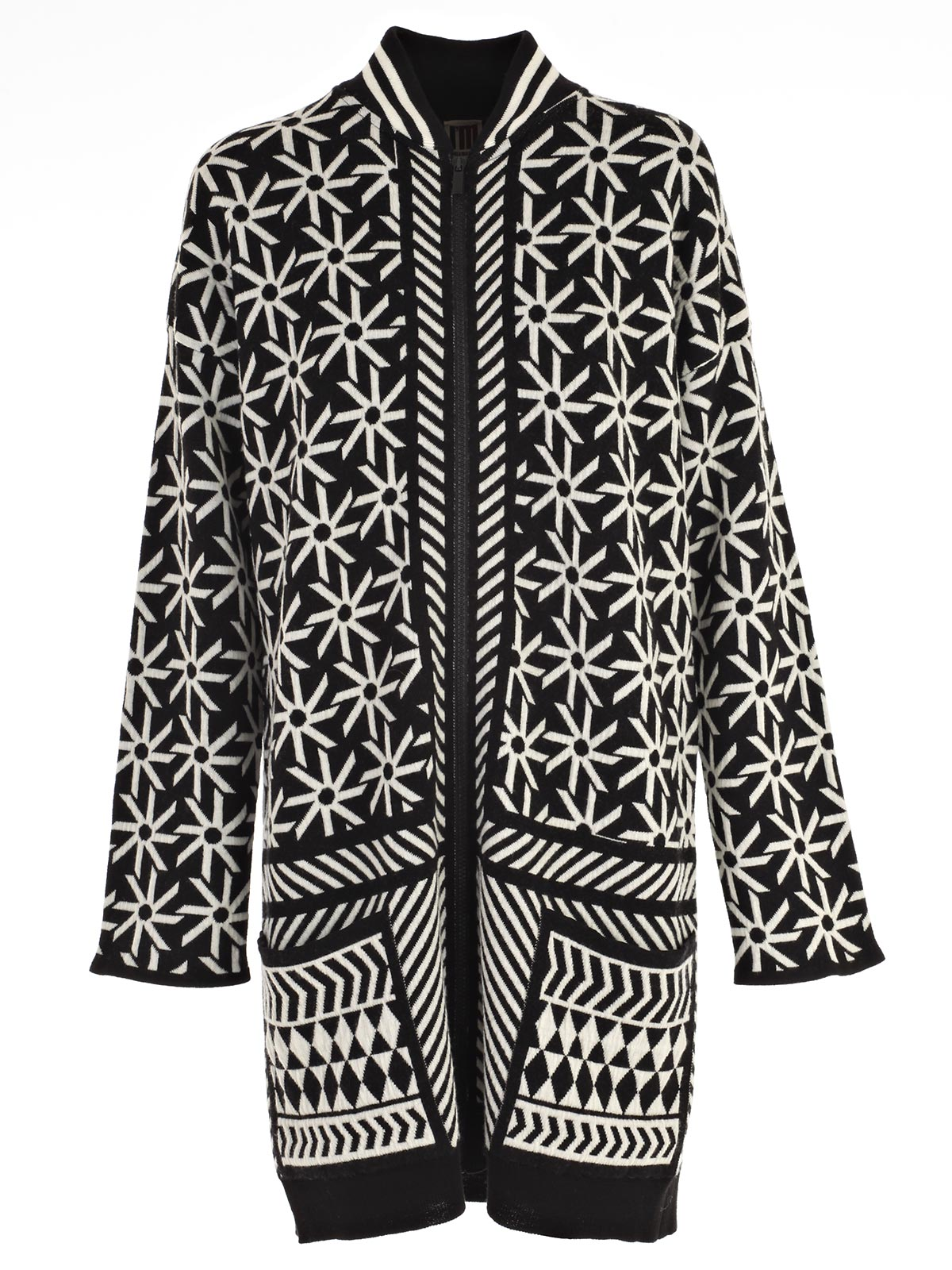 Picture of I'M ISOLA MARRAS JERSEY CARDIGAN JACQUARD MULTICOLOR