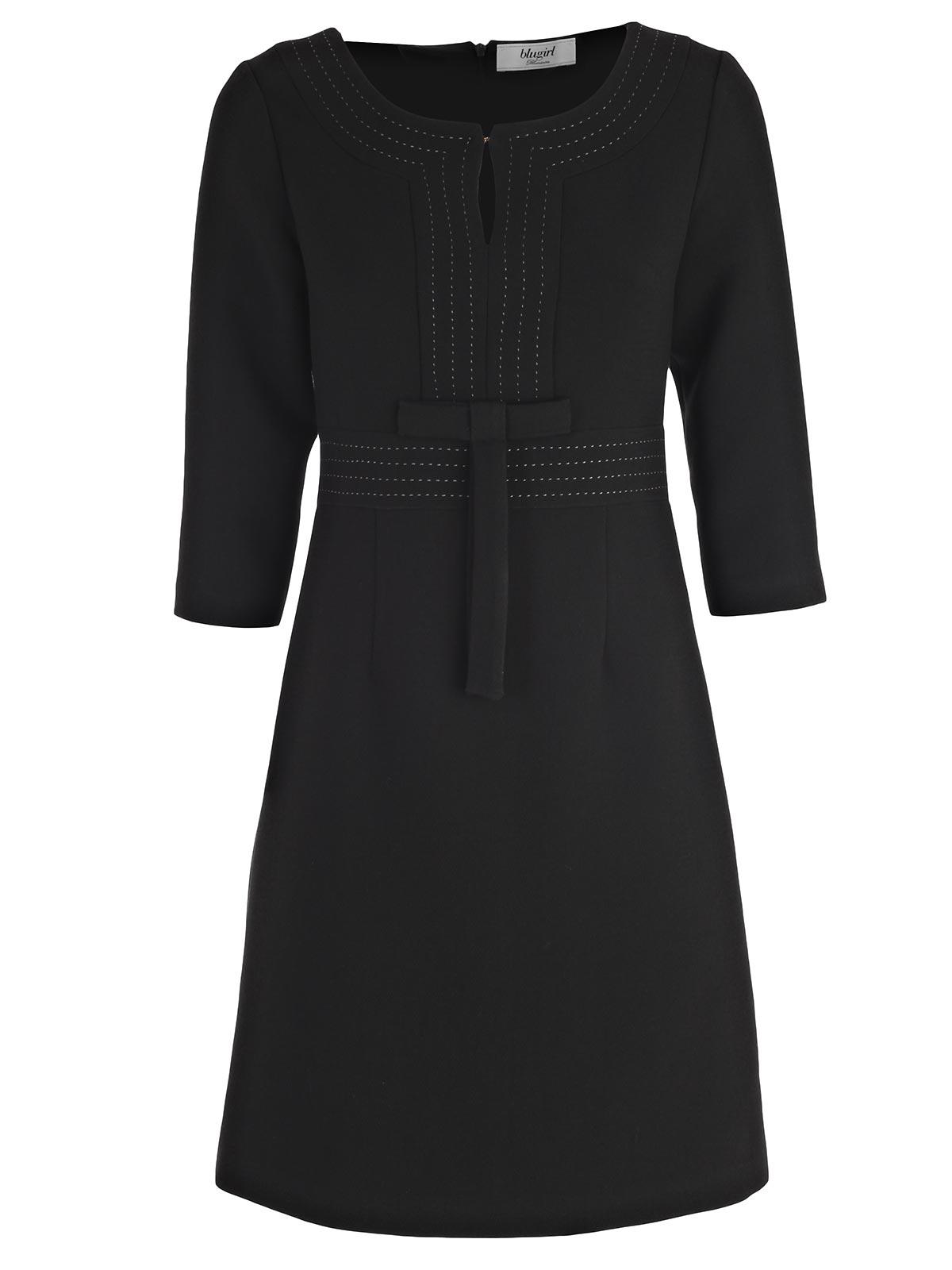 Picture of BLUGIRL DRESS ABITO M3/4 IMPUNTURE+ FIOCCO