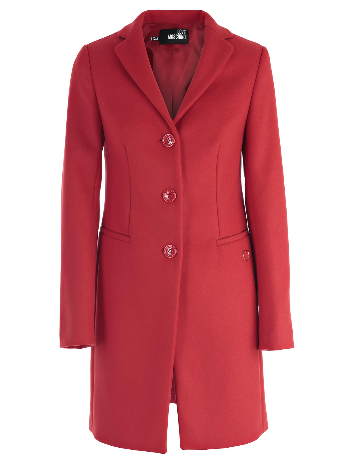 Padded Walls Love Moschino Trench Amp Raincoat Wk40681t8623 097 Red