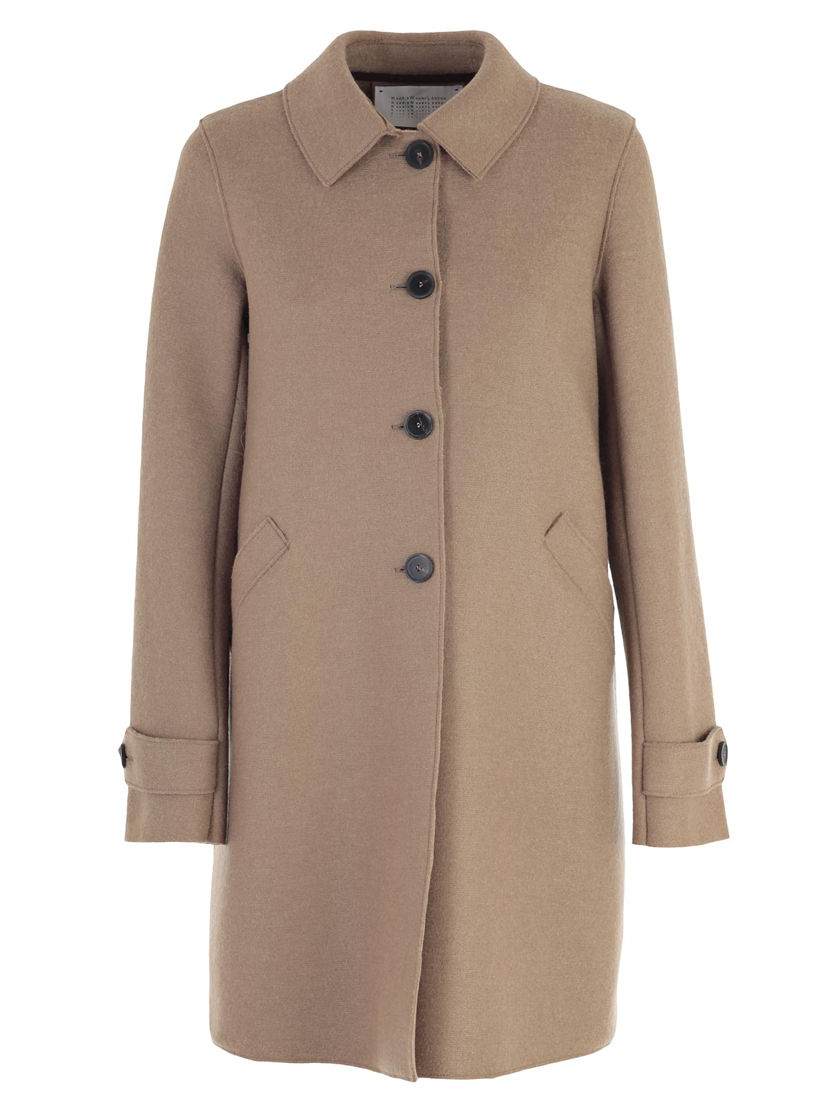 Picture of HARRIS WHARF LONDON COAT LODEN LUNGO INTERNO PILE