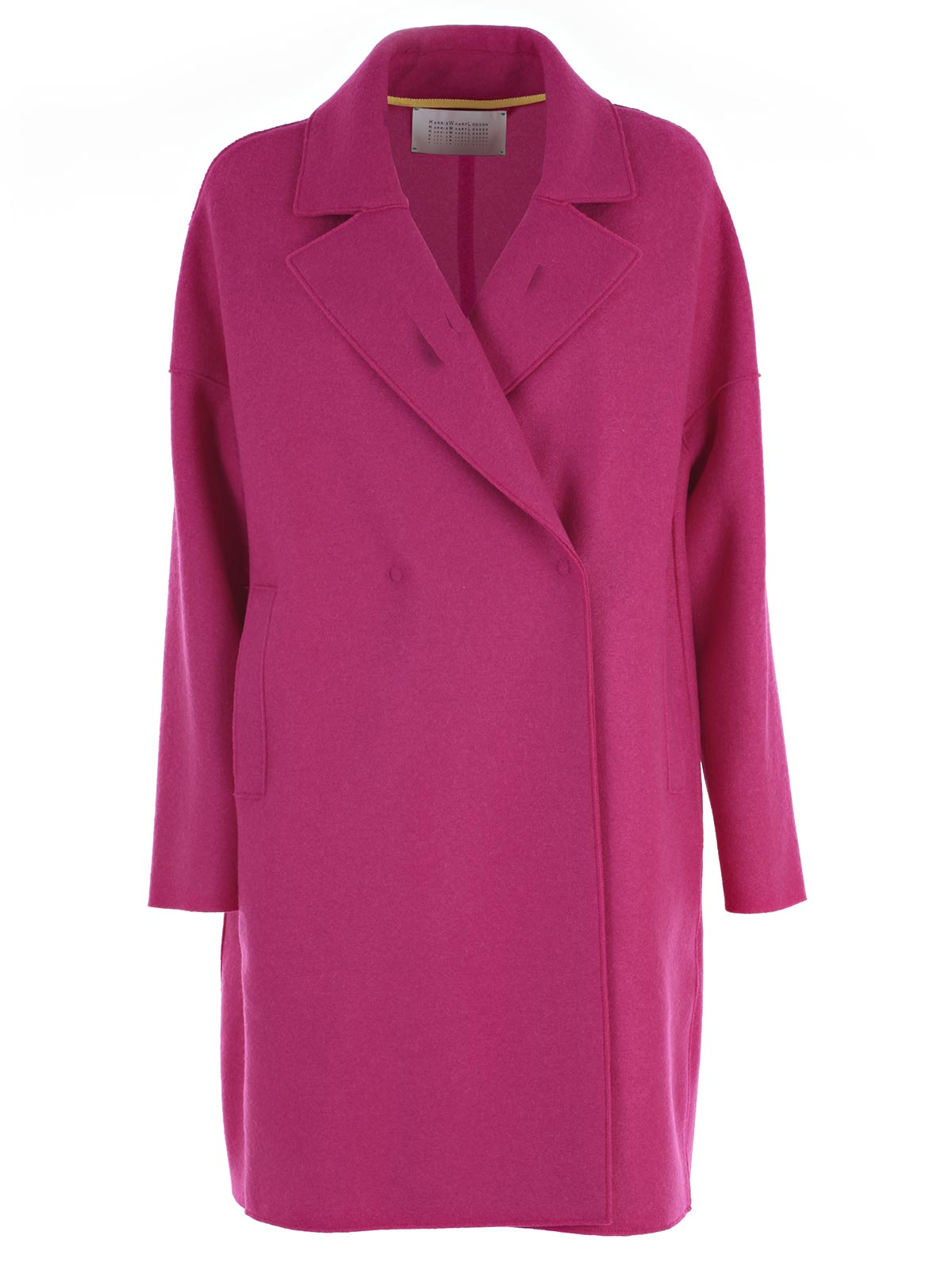 Picture of HARRIS WHARF LONDON COAT CAPPOTTO D/PETTO OVER