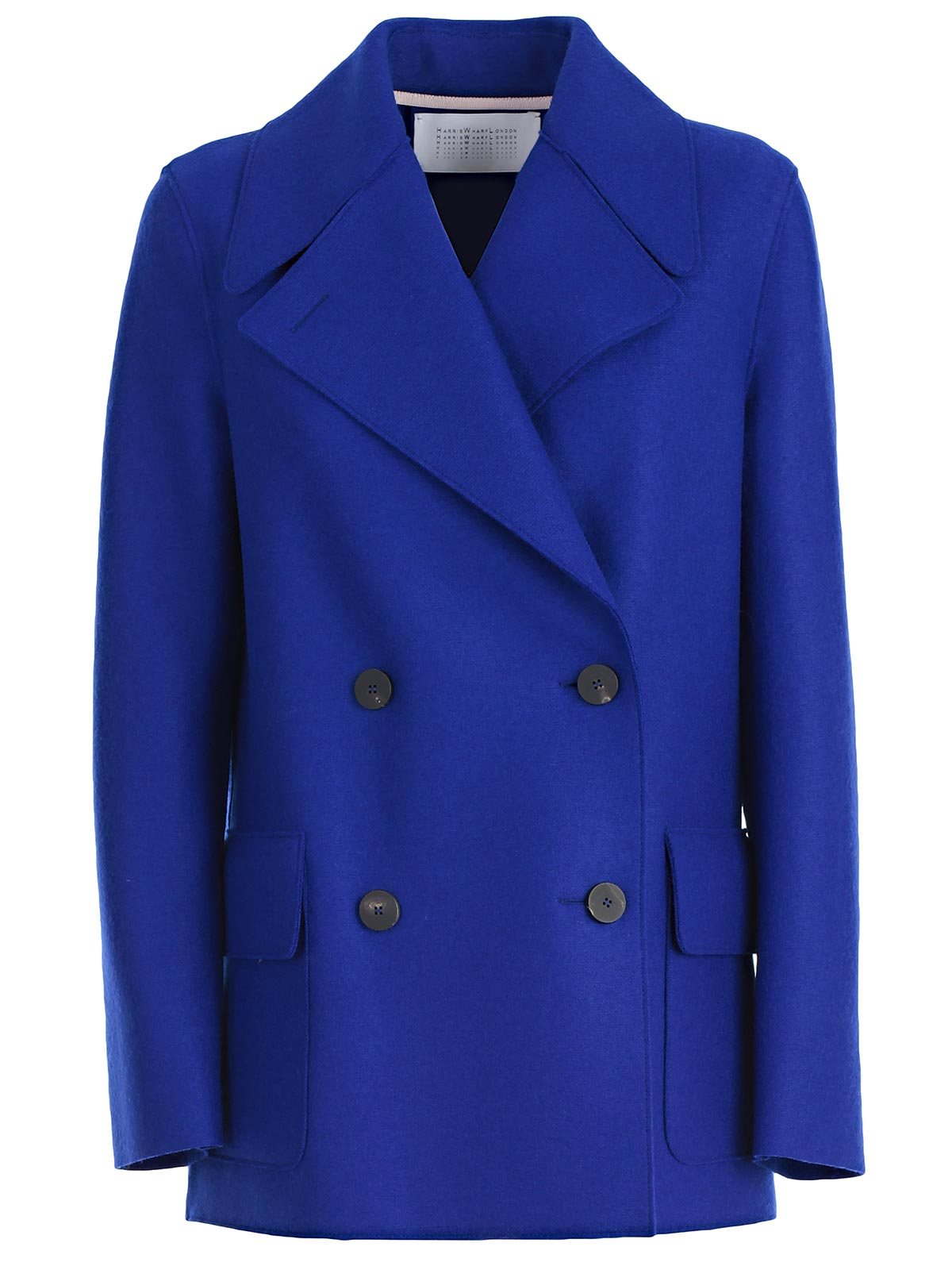 Picture of Harris Wharf London Double Breasted & Peacoat