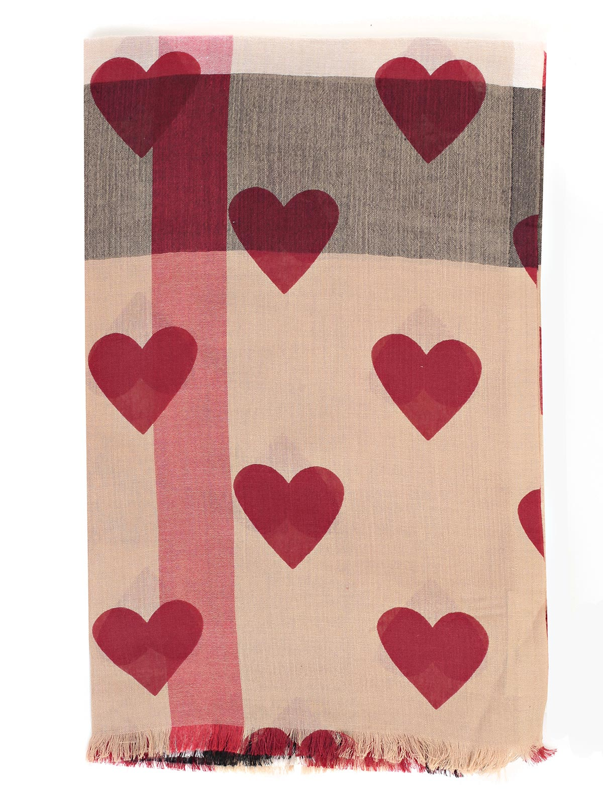 Picture of BURBERRY SCARVES MU HRT OVRPT   SCARVES WITH HEARTS
