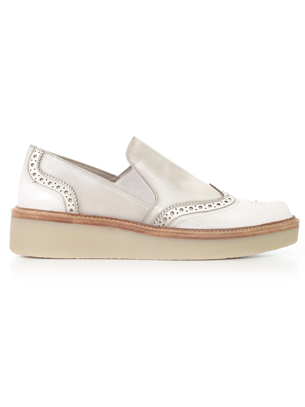 Picture of DKNY FOOTWEAR KARA  BROGUE SLIP ON FLAT