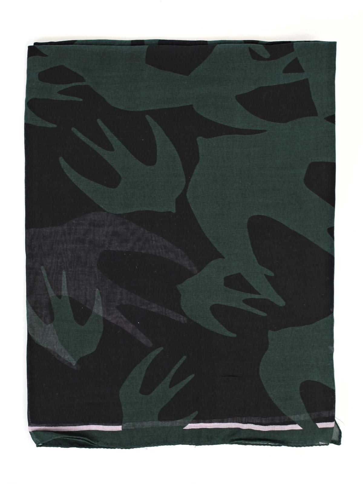 Picture of MCQ ALEXANDER MCQUEEN SCARVES FOULARD SWALLOW SWARM