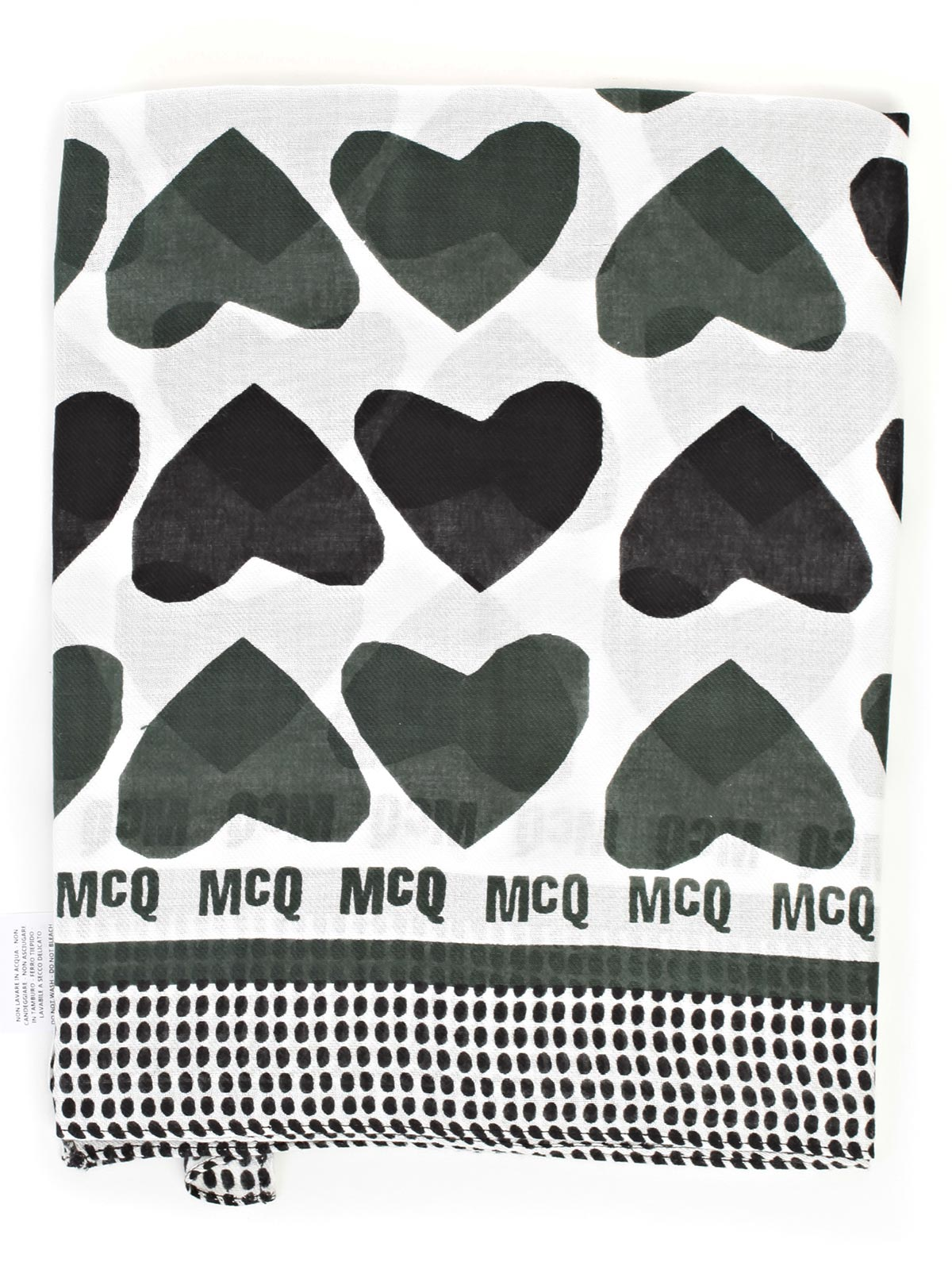 Picture of MCQ ALEXANDER MCQUEEN SCARVES FOULARD MCQ HEARTS
