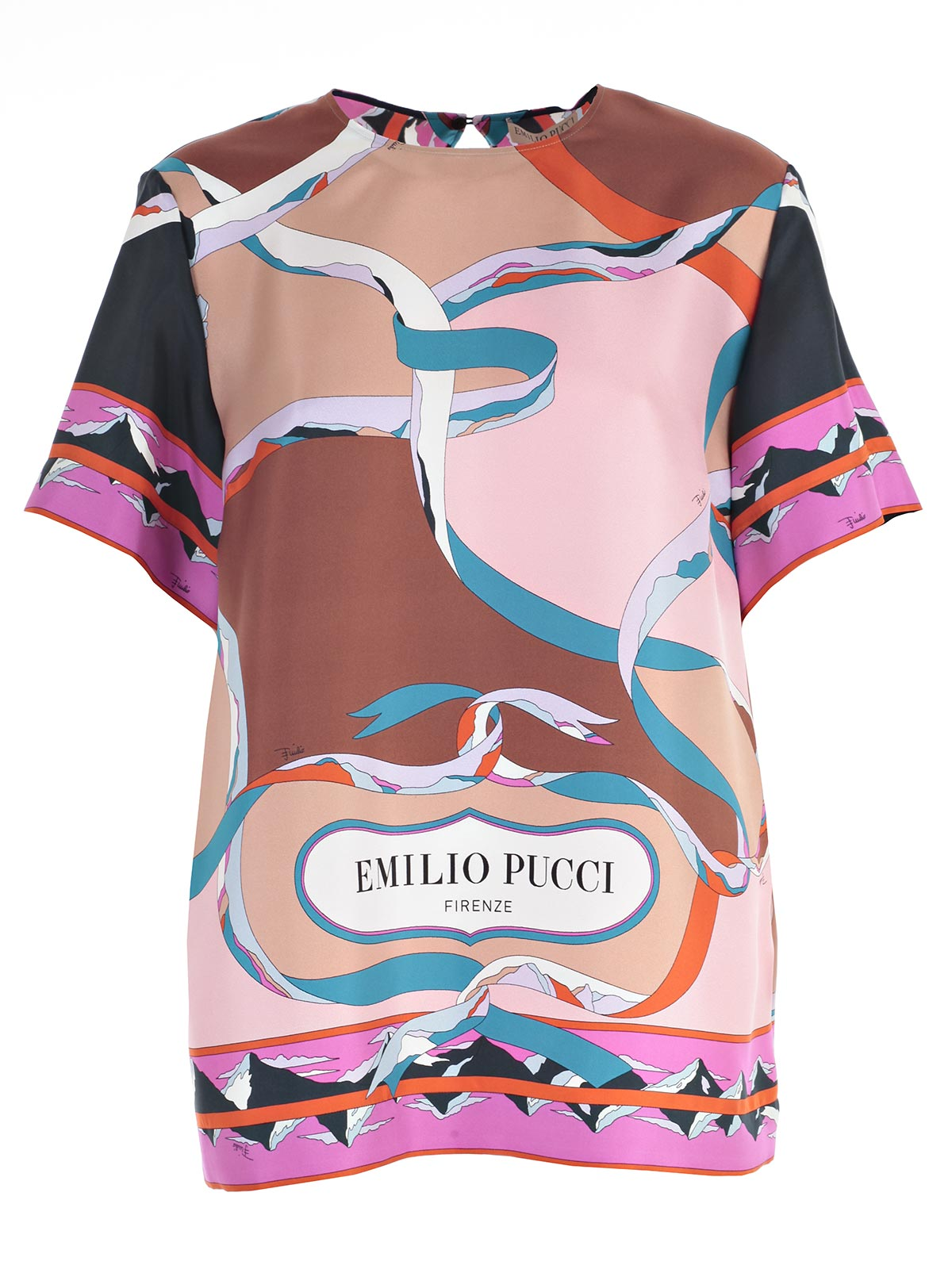 Picture of EMILIO PUCCI TOP TOP/T-SHIRT M/M CON LOGO