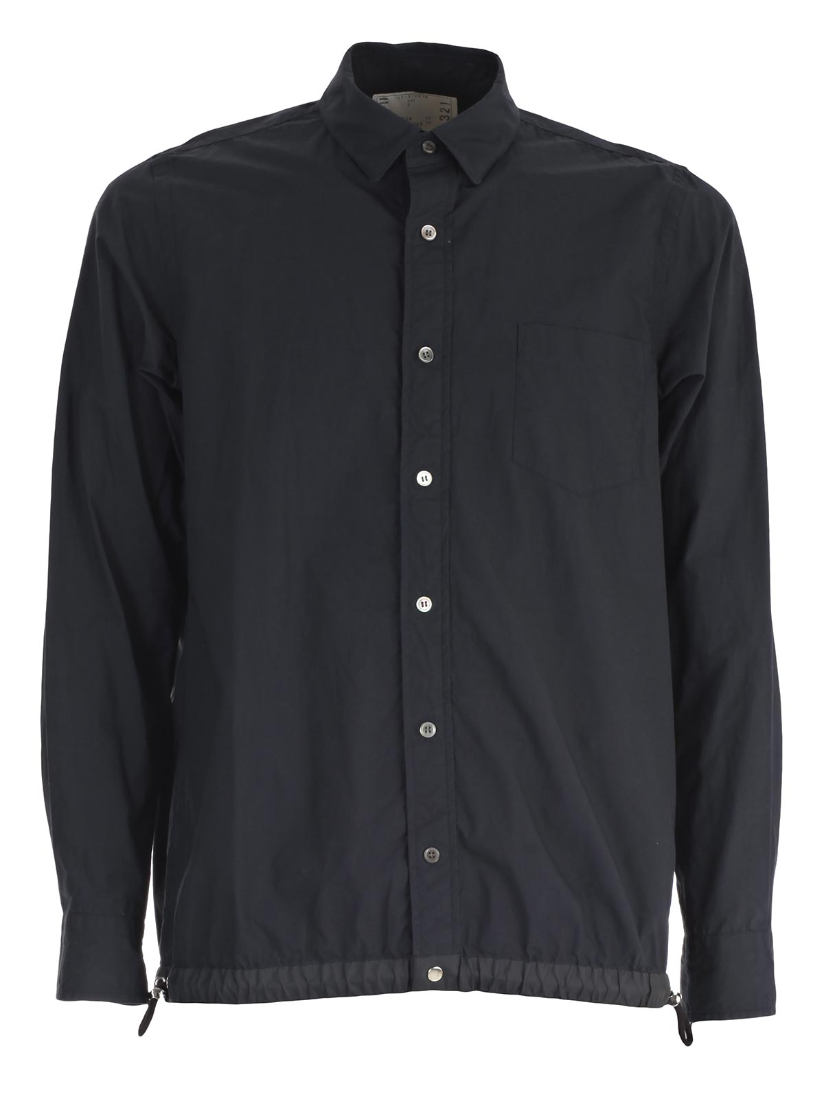 Picture of SACAI SHIRT CAMICIA COULISSE IN FONDO