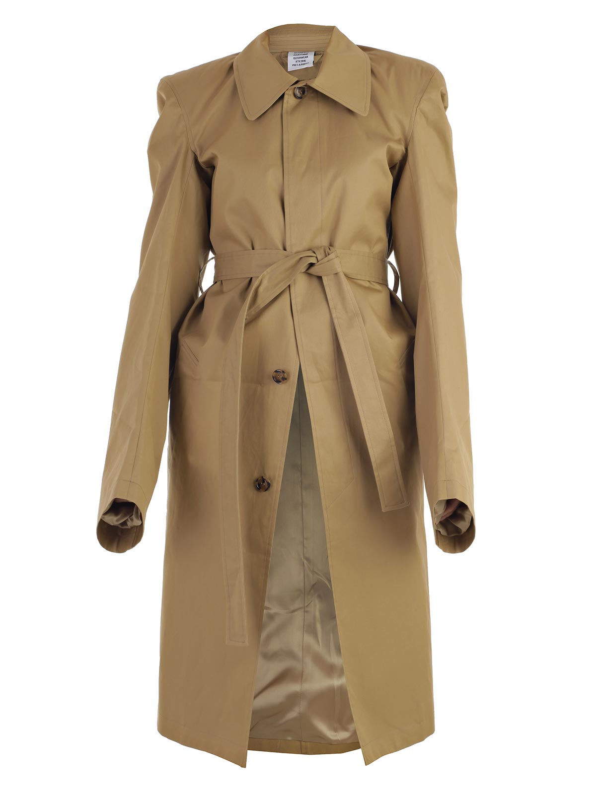 Picture of VETEMENTS Trench TRENCH