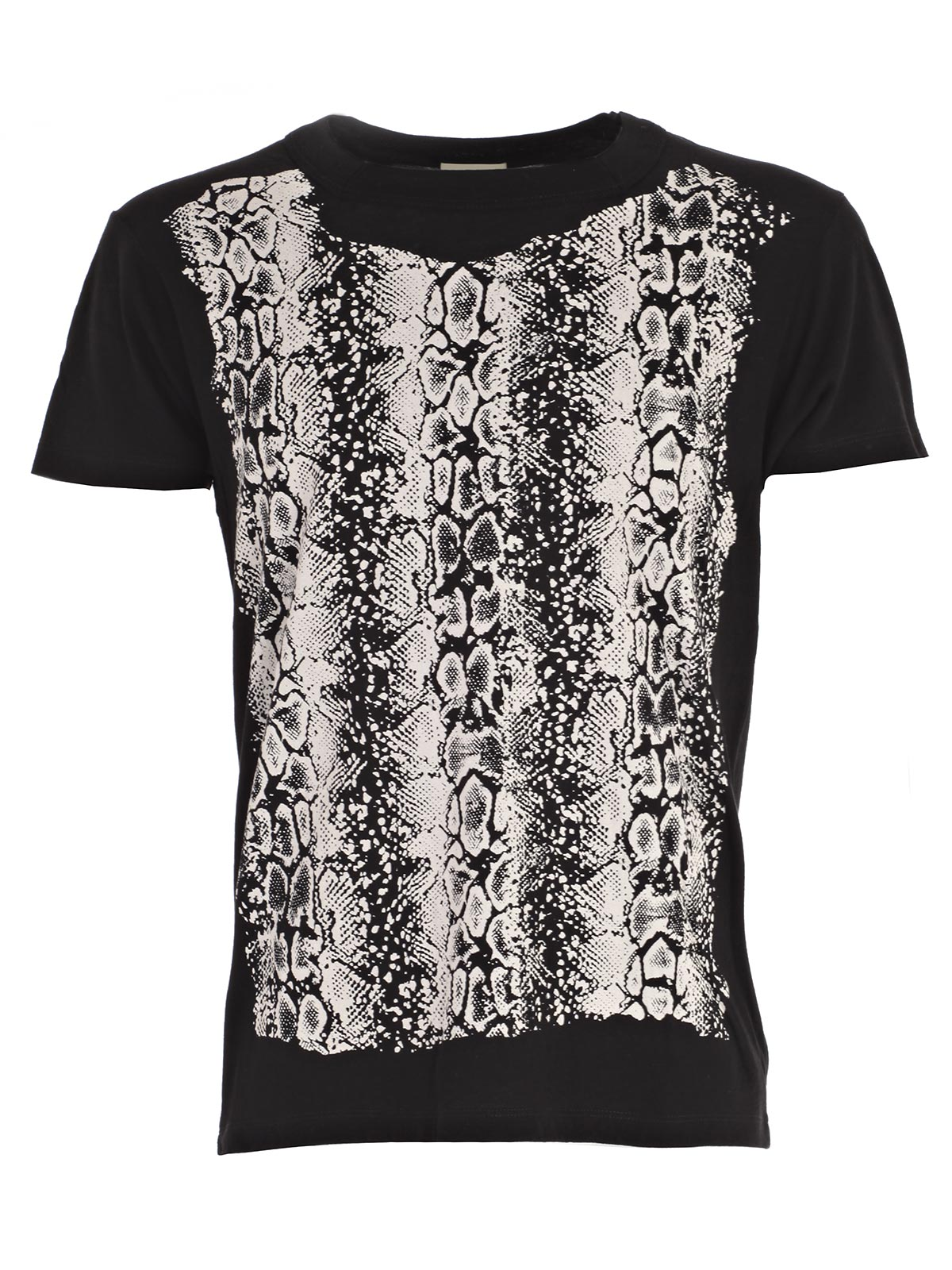 Picture of SAINT LAURENT T-SHIRT T-SHIRT COLLO QUADRATO