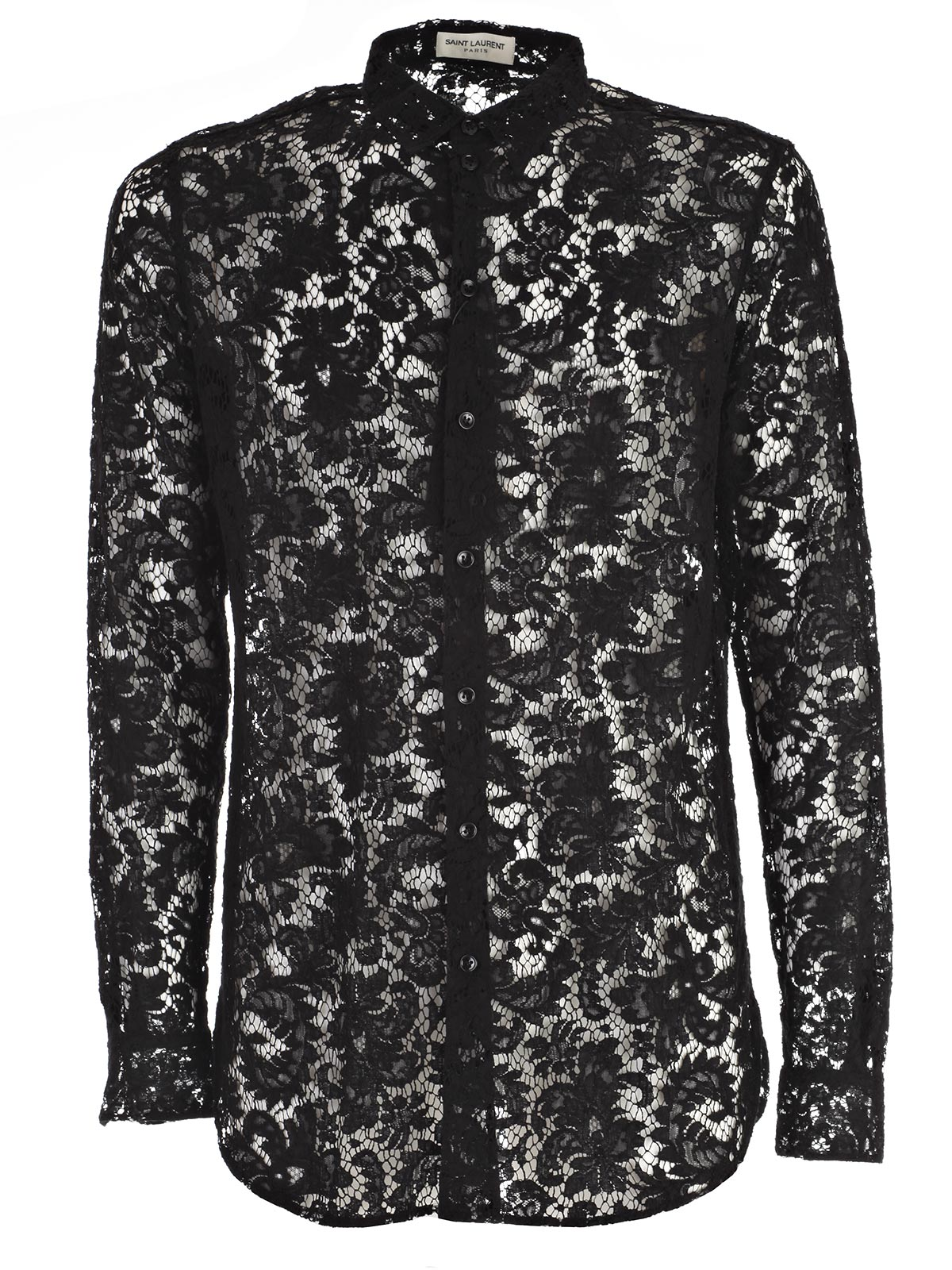 Picture of SAINT LAURENT SHIRT CAMICIA PIZZO