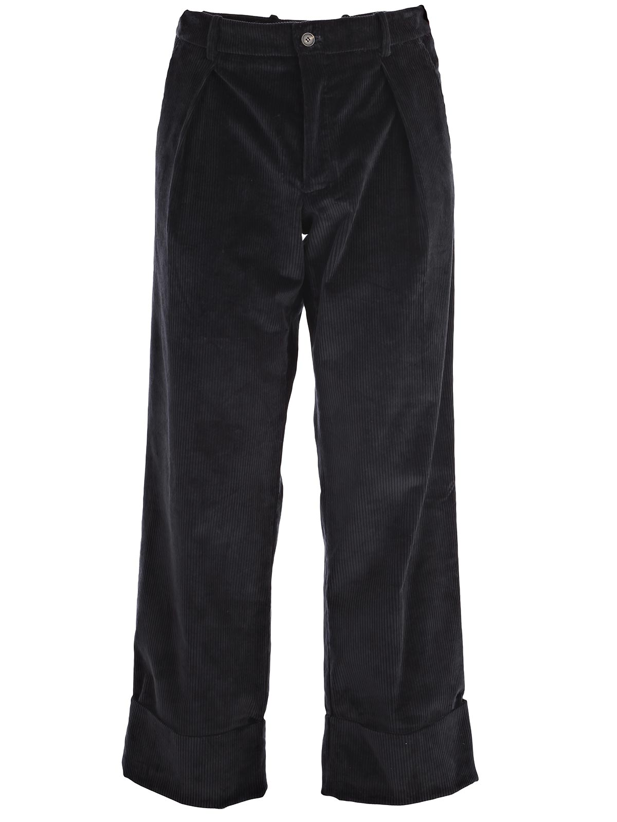 Picture of ANTONIO MARRAS  TROUSERS PANTALONE LARGO C/ORLO VELLUTO COSTE