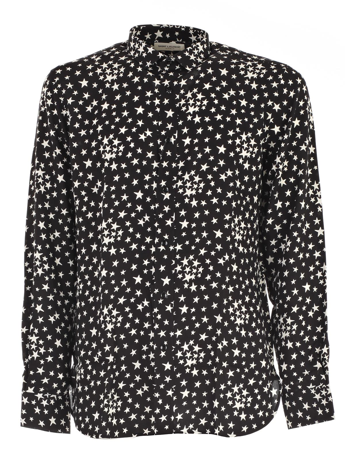 Picture of SAINT LAURENT SHIRT CAMICIA STELLE BIANCHE