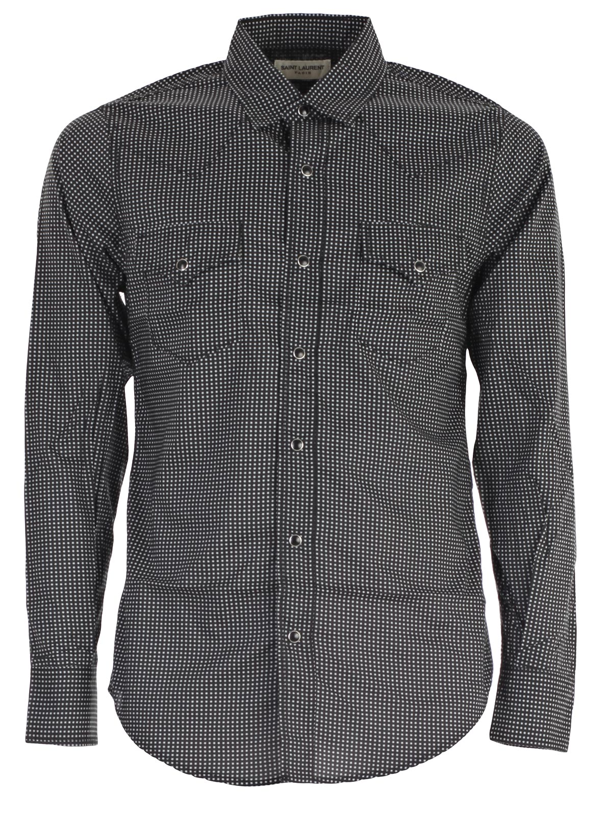 Picture of SAINT LAURENT SHIRT CAMICIA C/STELLINA COLORE SLAVATO