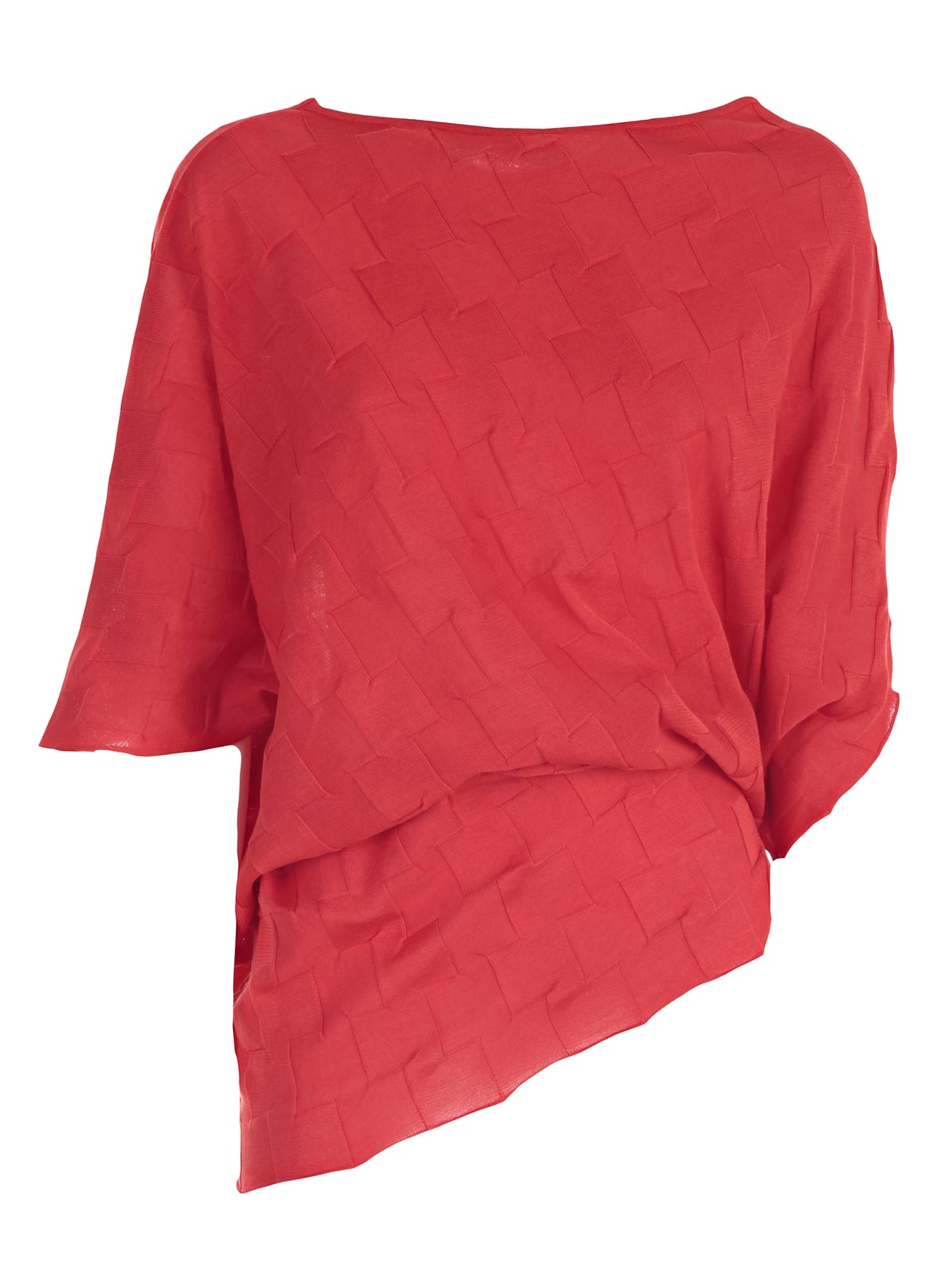 Picture of ISSEY MIYAKE  JERSEY MAGLIA ASIMMETRICA