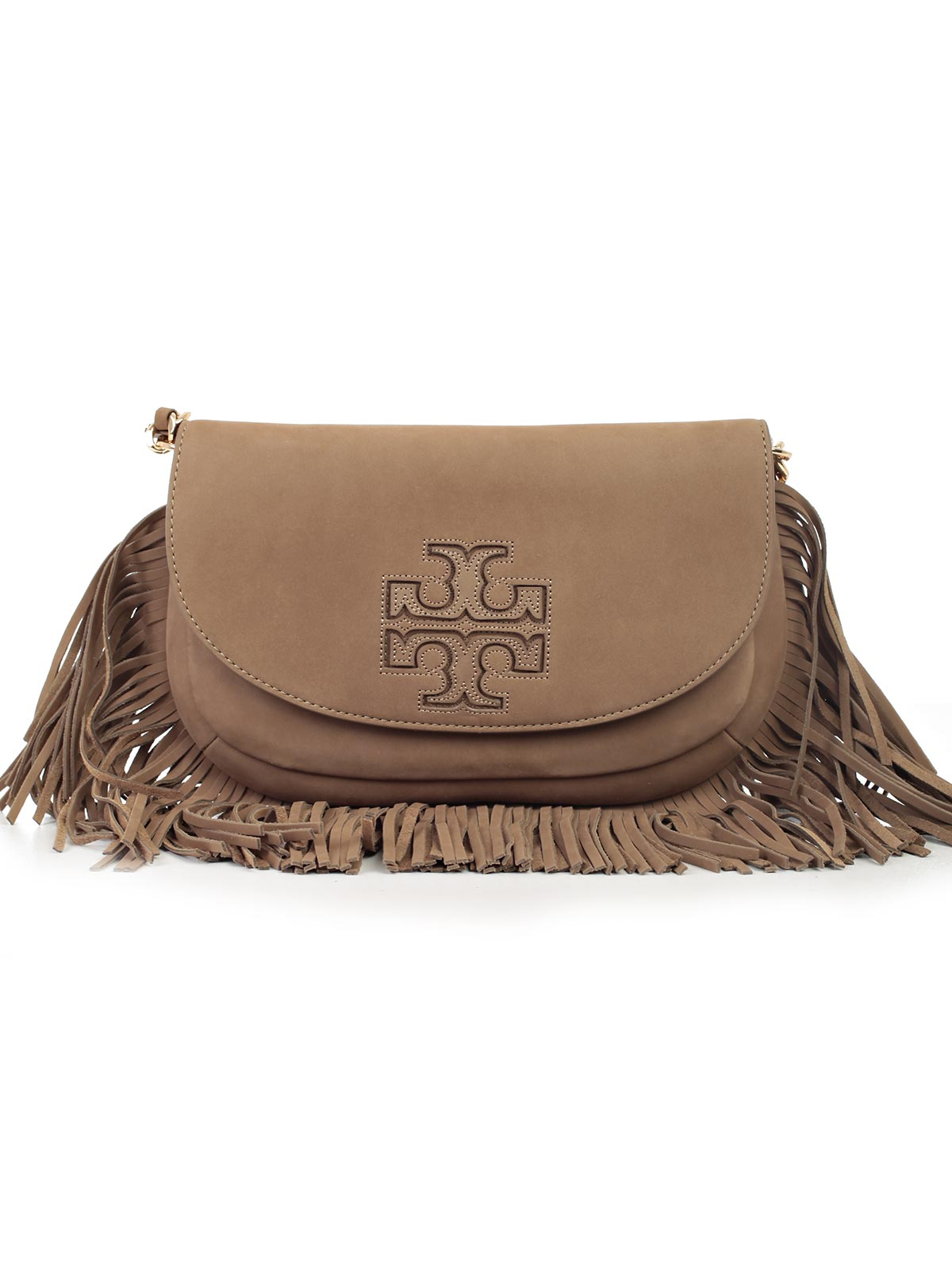 Picture of TORY BURCH BAG BORSA HARPER FRINGE MINI CROSS-BODY