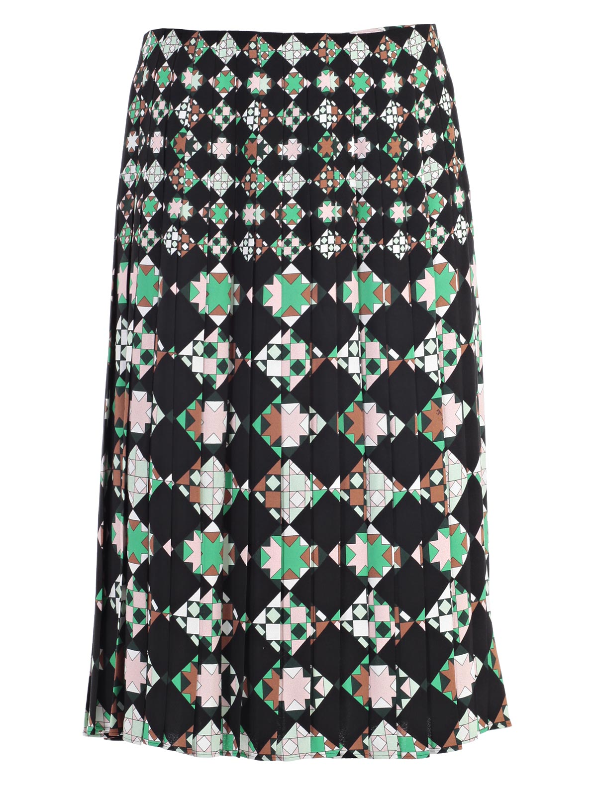 Picture of EMILIO PUCCI SKIRT GONNA PLISSE` CON SPACCO