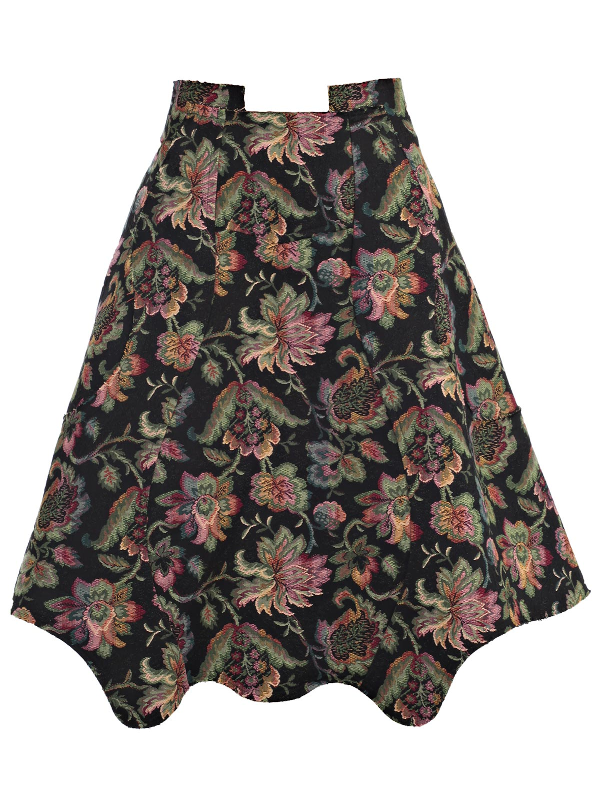 """Picture of COMME DES GARCONS SKIRT GONNA FIORI """"TAPPEZZERIA"""""""