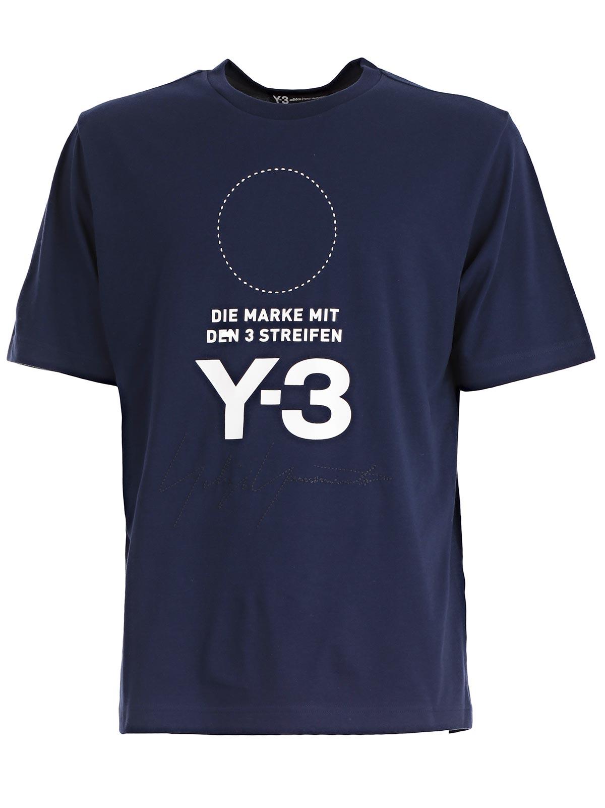 Picture of Y-3 Yohji Yamamoto Adidas  T-Shirt