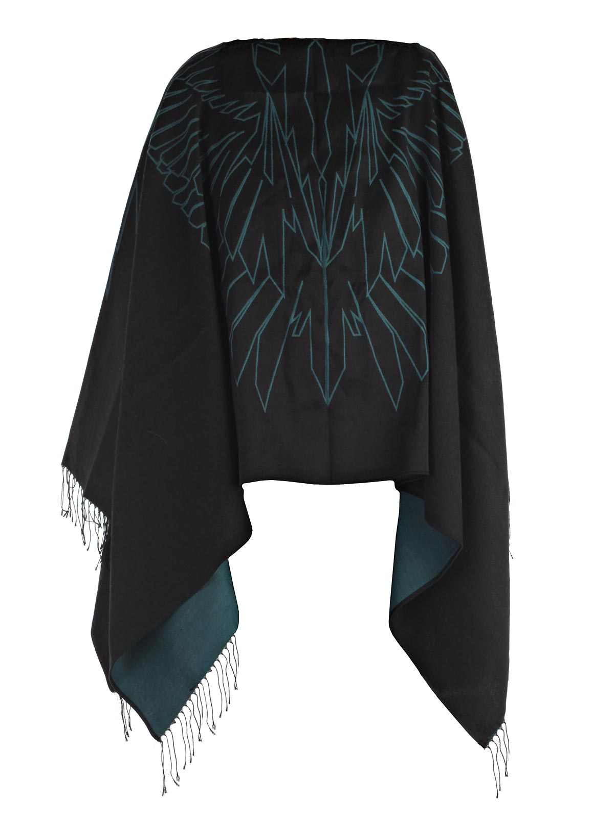 Picture of MARCELO BURLON COUNTY OF MILAN JACKET PONCHO ASEREL