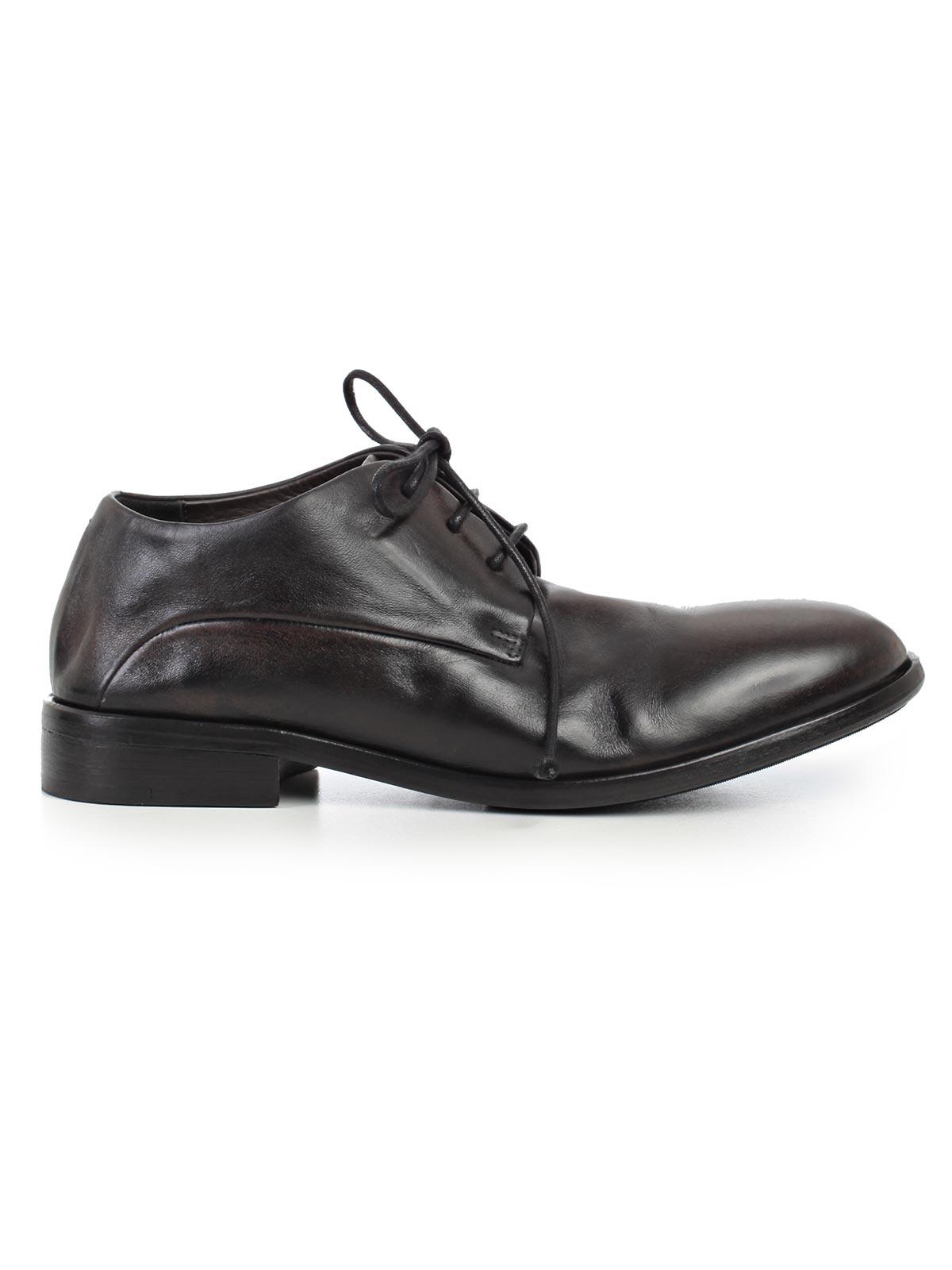 """Picture of MARSELL FOOTWEAR SCARPA """"CETRIOLO"""" ALLACCIATA - COL. ABRASIVATO"""