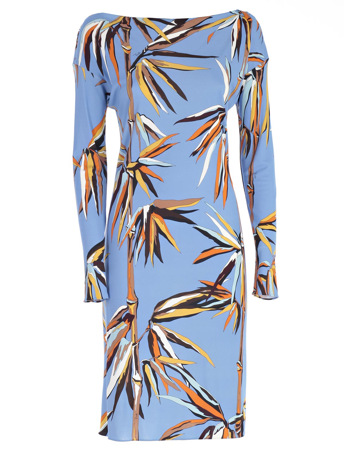 "Picture of EMILIO PUCCI DRESS ABITO ""MARILYN"" M/L STAMPA BAMBOO"