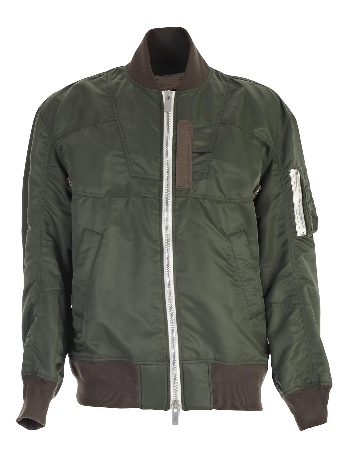 Picture of SACAI JACKET BOMBER OVER